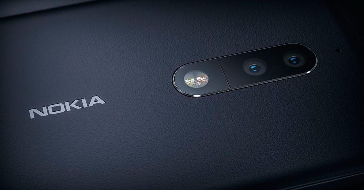 Doble cámara del Nokia 9