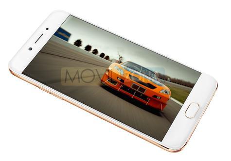 Oppo A77 blanco con videojuego