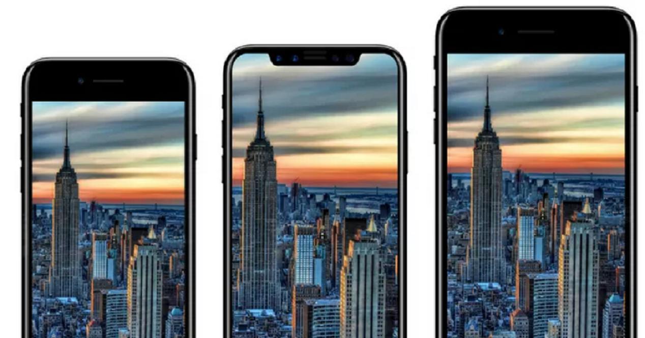 Tamaño del iPhone 8