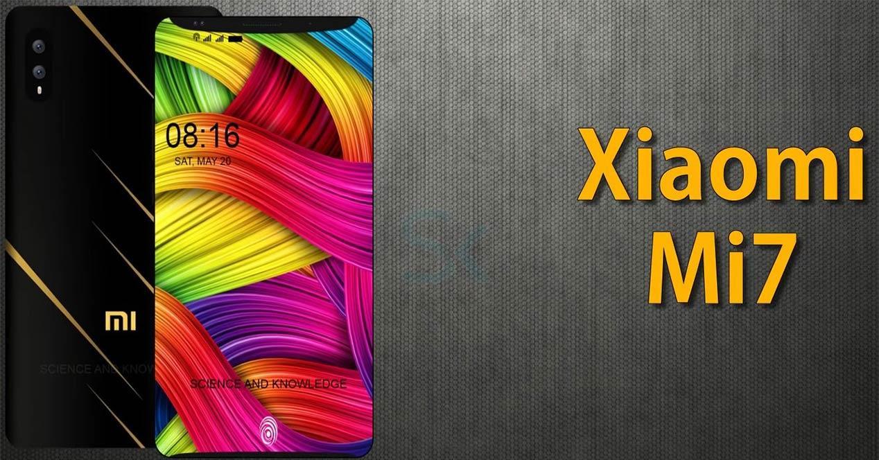Vídeo conceptual con el diseño del Xiaomi Mi 7