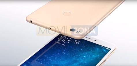 Xiaomi Mi Max 2 dorado
