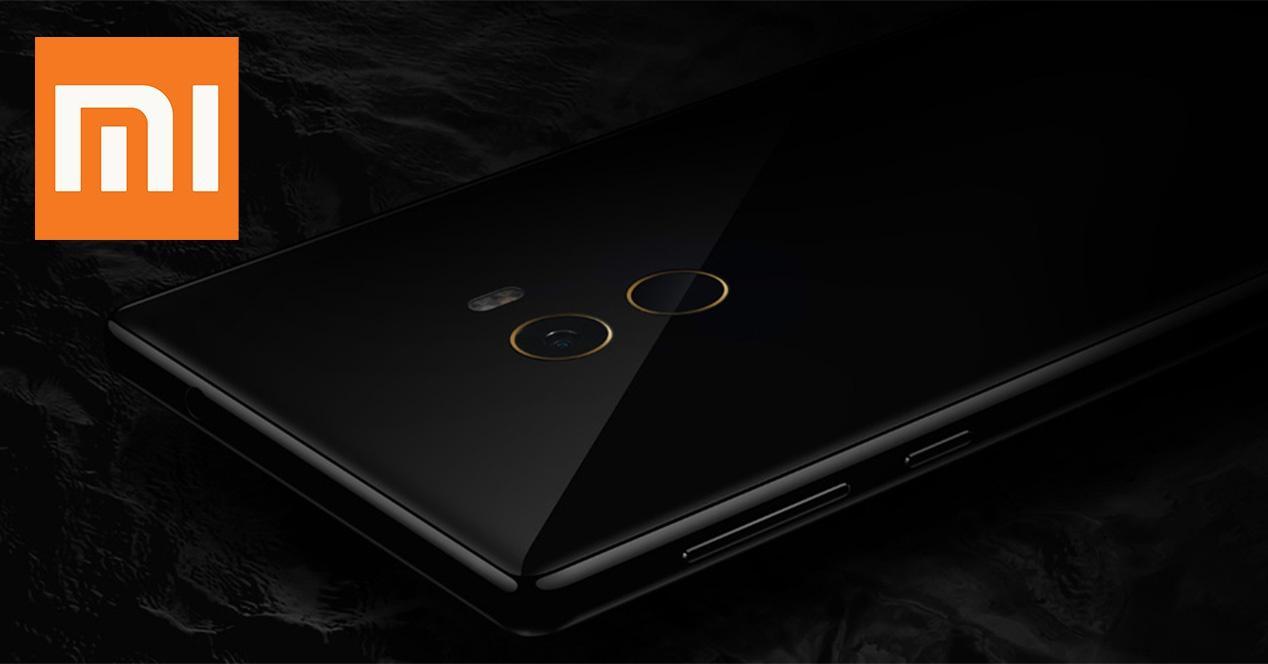 parte trasera del l Xiaomi Mi MIX