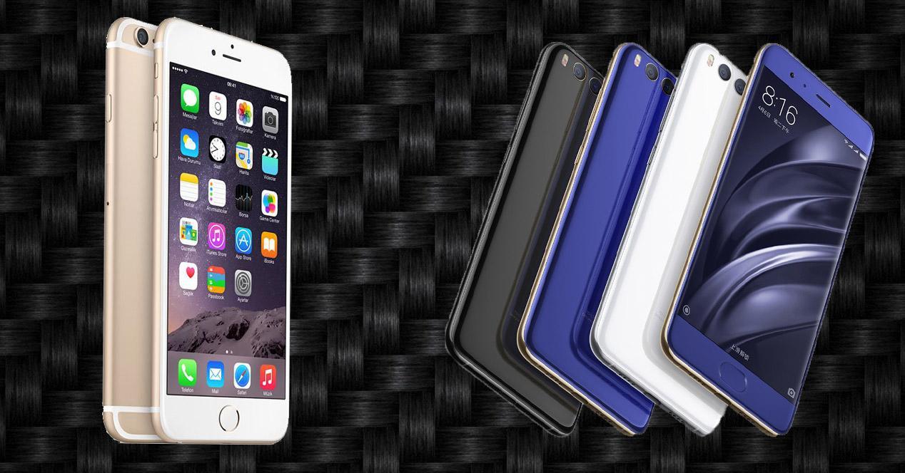 iPhone 7 vs Xiaomi Mi6