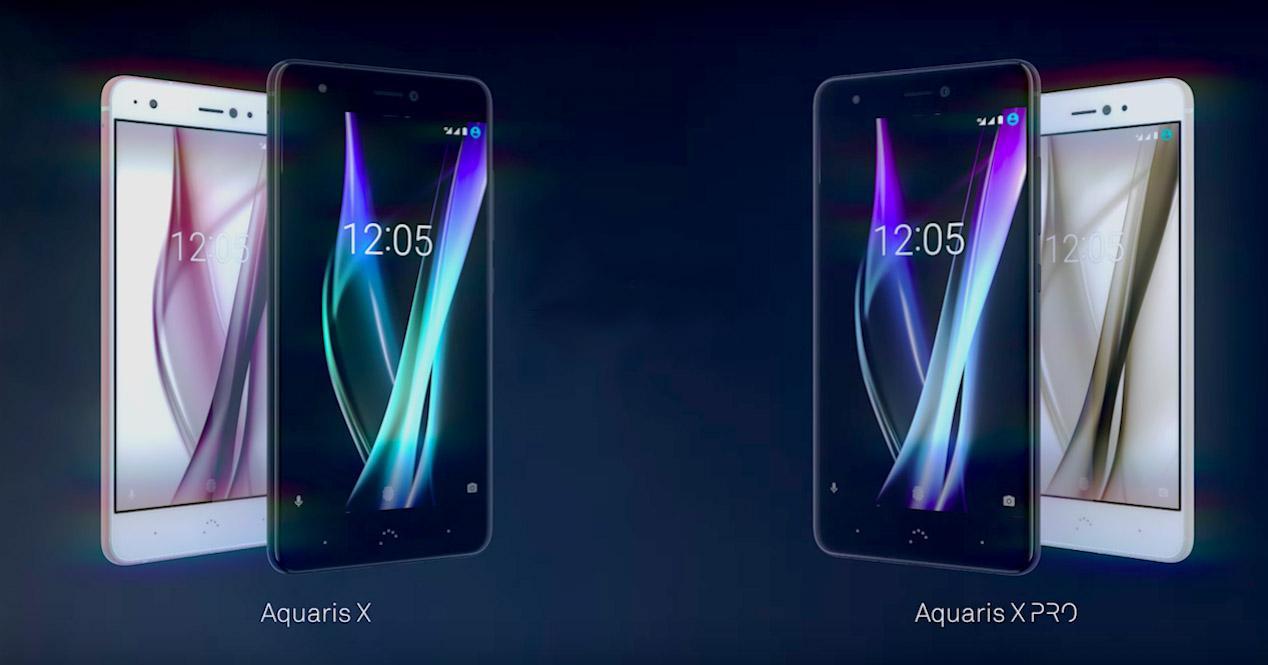 bq aquaris x y bq aquaris x pro