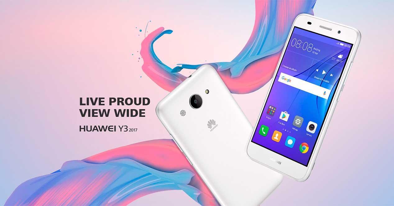 características del Huawei Y3 2017