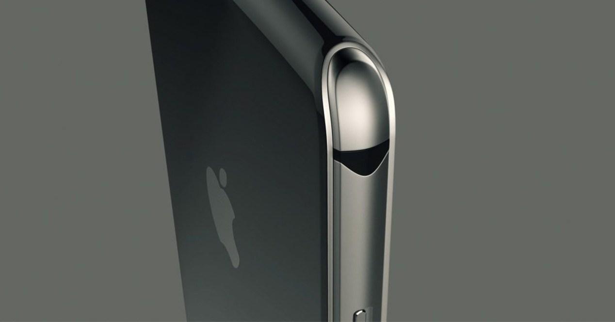 Borde del iPhone 8