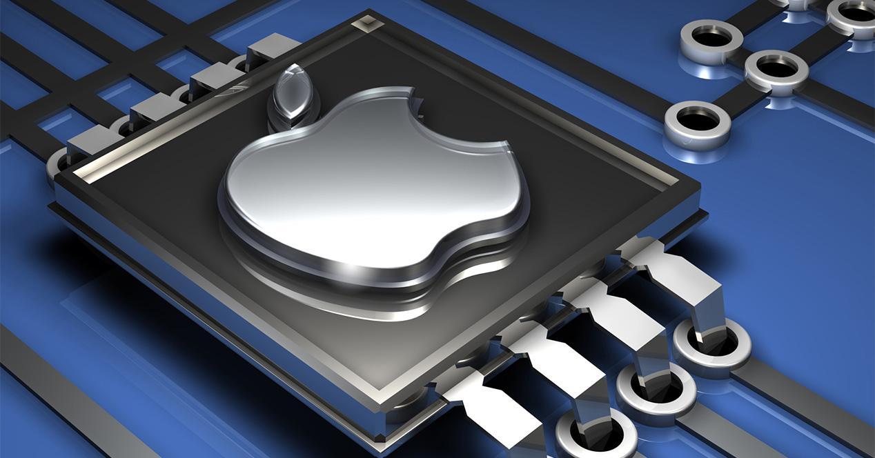 Chip de un iPhone
