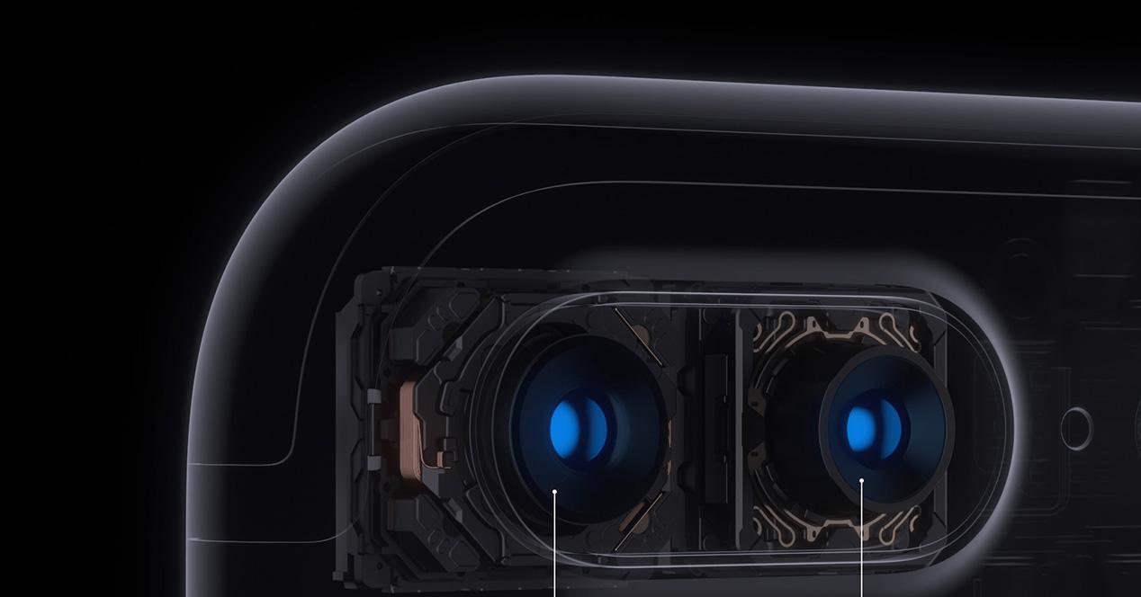 Doble cámara frontal en el iPhone 8