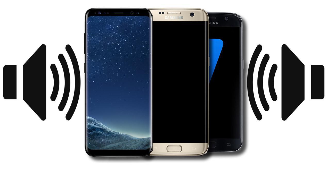 sonido samsung galaxy s8