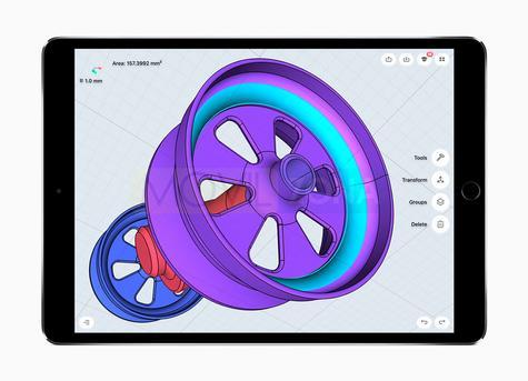 Apple iPad Pro 10.5 diseño 3D