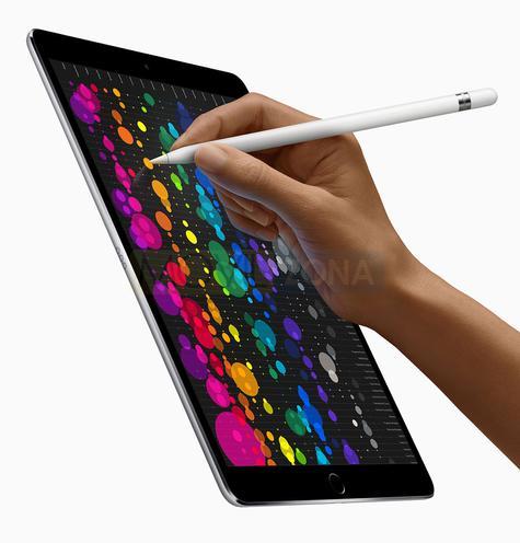 Apple iPad Pro 12.9 dibujo a mano alzada