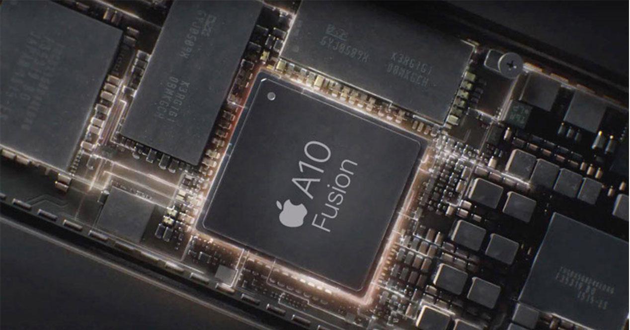 Procesador Apple A10X Fusion del iPad Pro 10.5