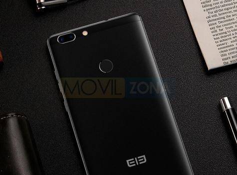 Elephone C1 Max negro cámara digital