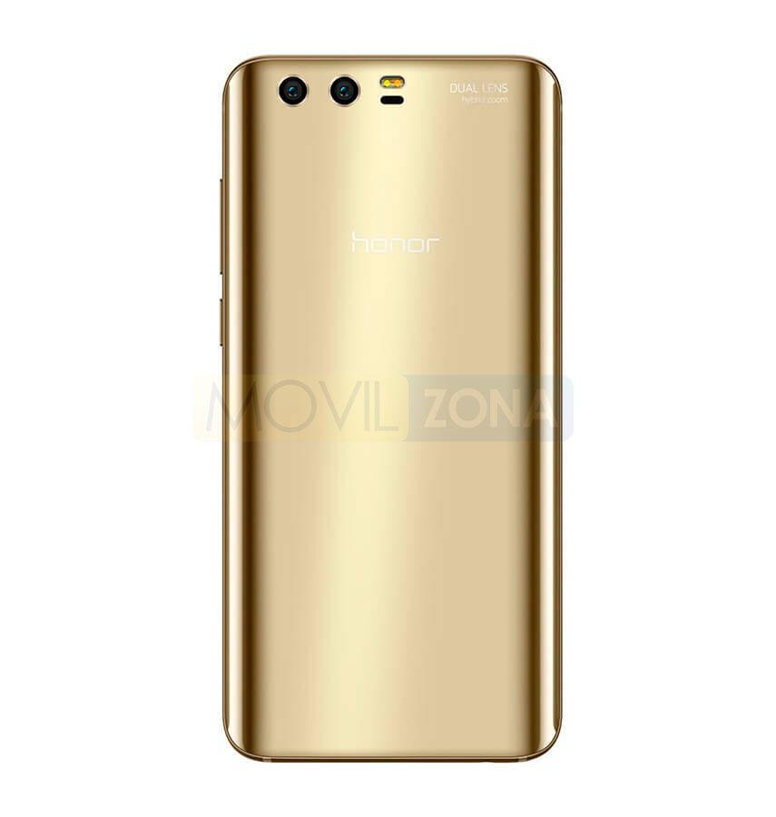 Honor 9 dorado cámara trasera