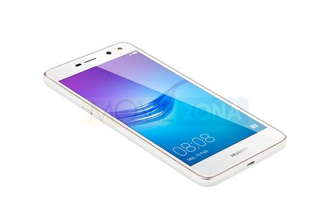 Huawei Y6 2017 blanco lateral