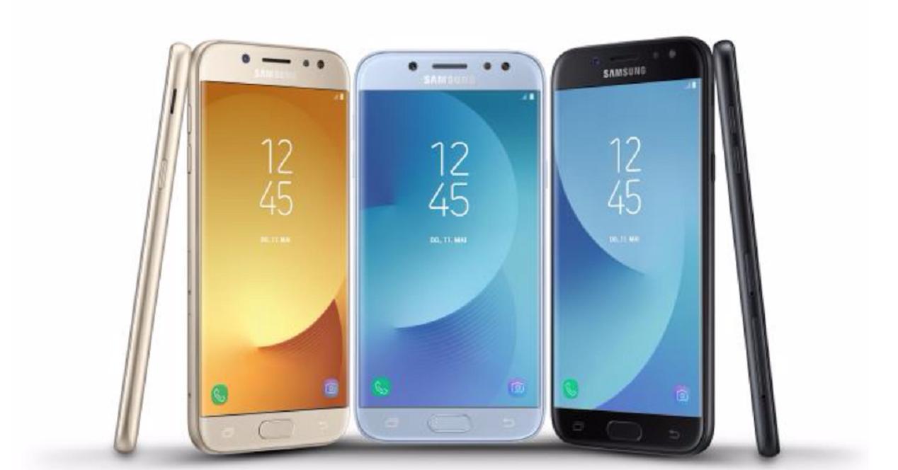 Samsung Galaxy J3 J5 J7