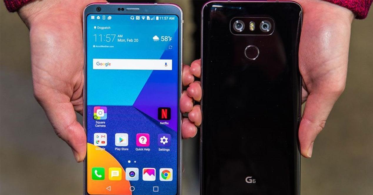 Distintas versiones del LG G6