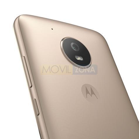 Motorola Moto E4 detalle de la cámara