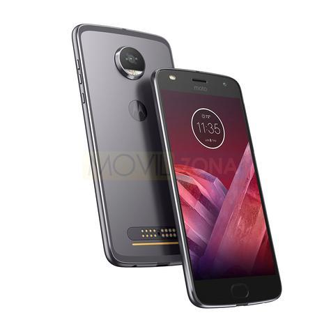 Motorola Moto Z2 Play plata y negro