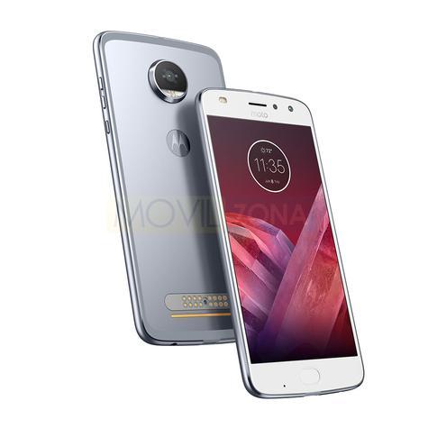 Motorola Moto Z2 Play blanco y plata