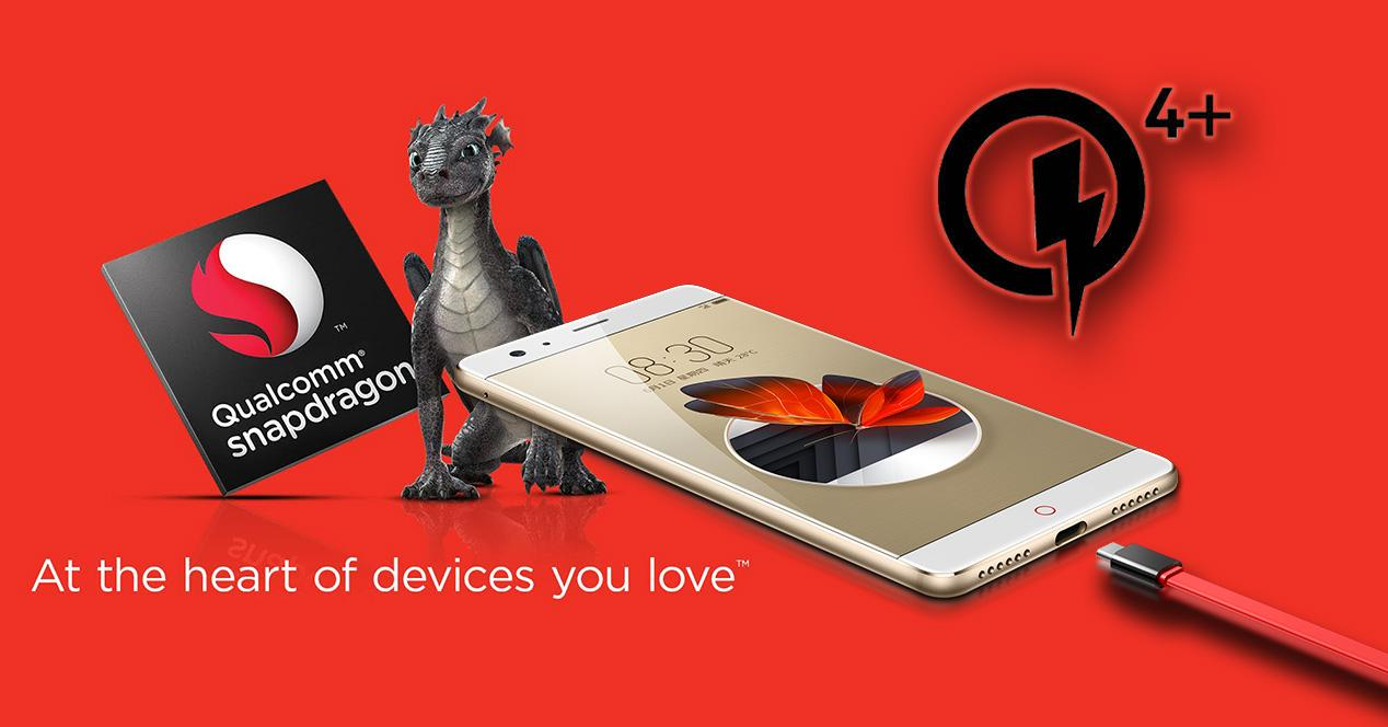 Nubia Z17 con Quick Charge 4+