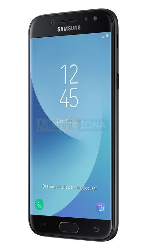 Samsung Galaxy J5 2017 negro perfil