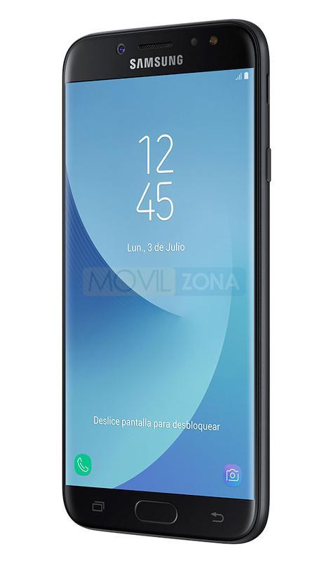 Samsung Galaxy J7 2017 negro vista lateral