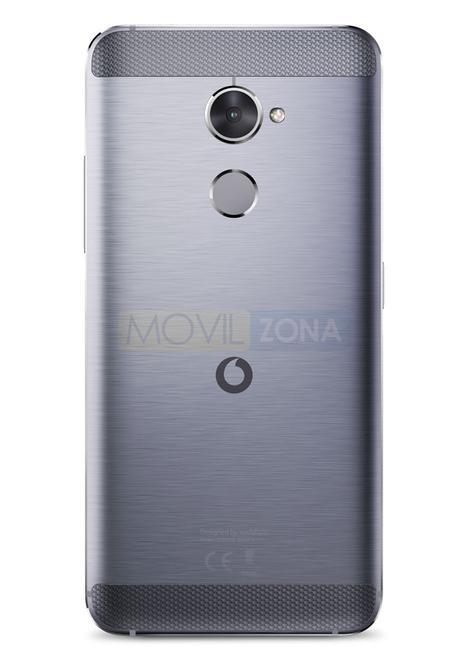 Vodafone Smart V8 cámara y huella dactilar