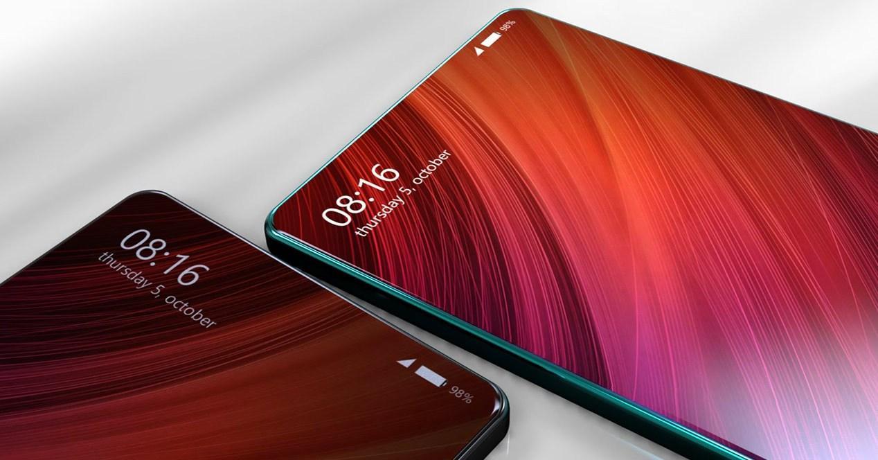 Diseño del Xiaomi Mi MIX 2