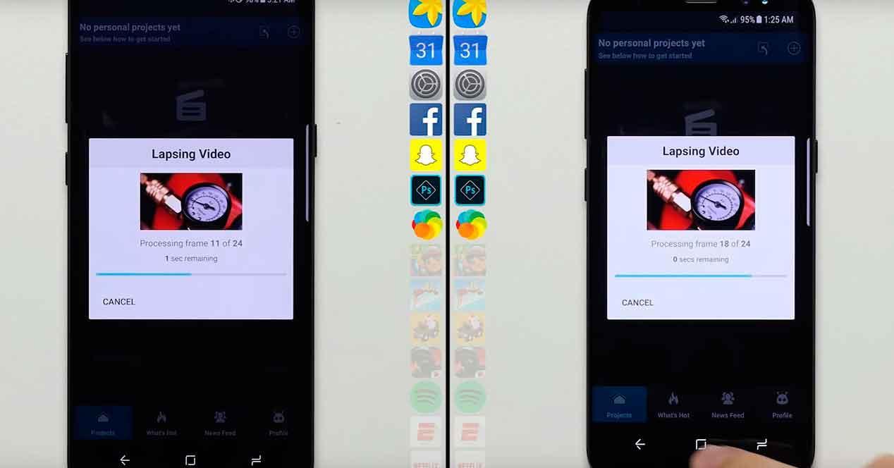 Samsung Galaxy S8+ de 6GB