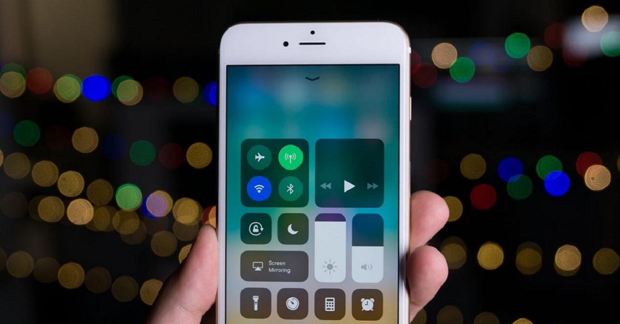 iOS 11 en iPhone