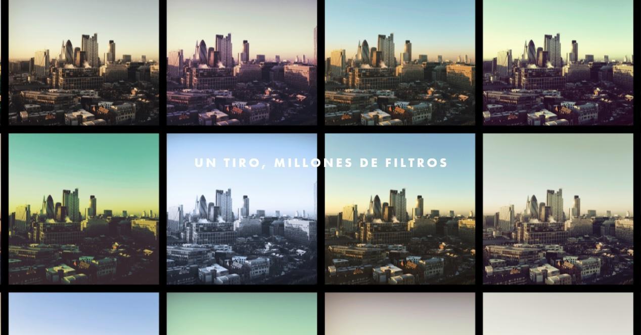 Editor con cientos de filtros gratis para iOS