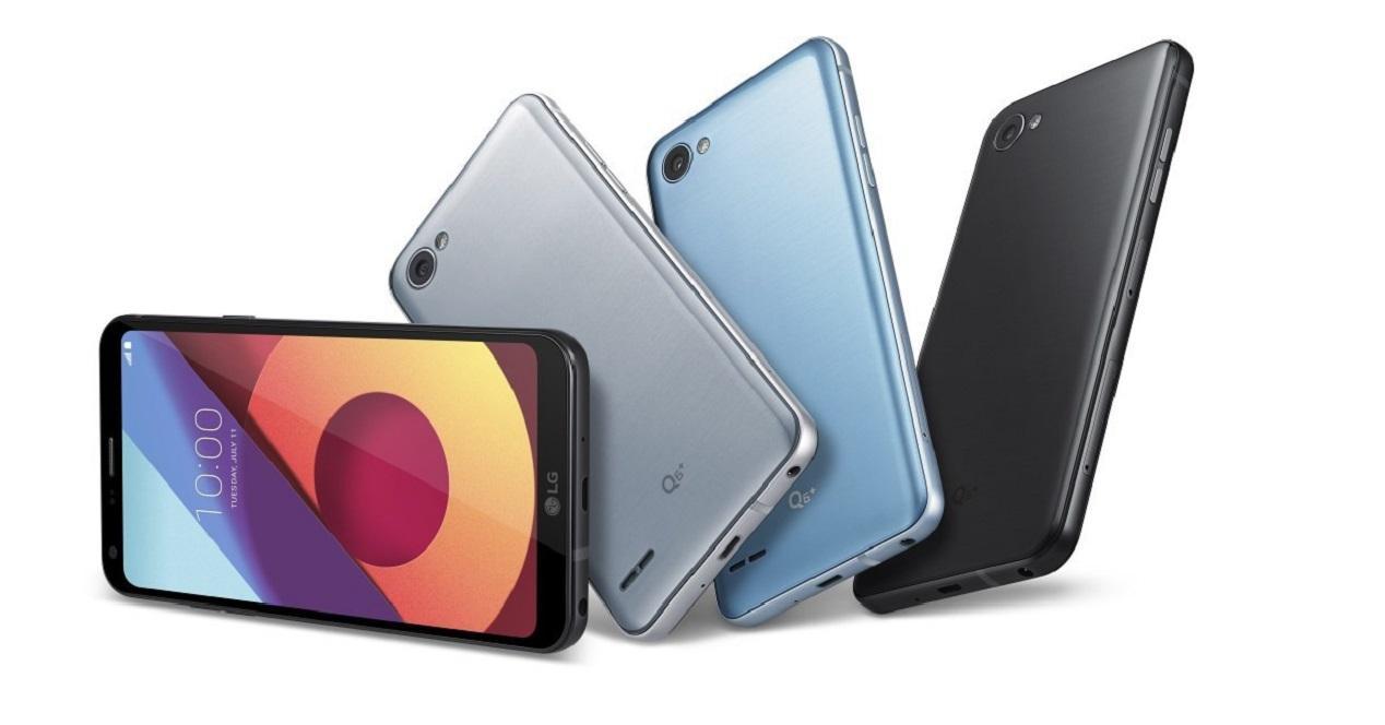 Características y diseño del LG Q6