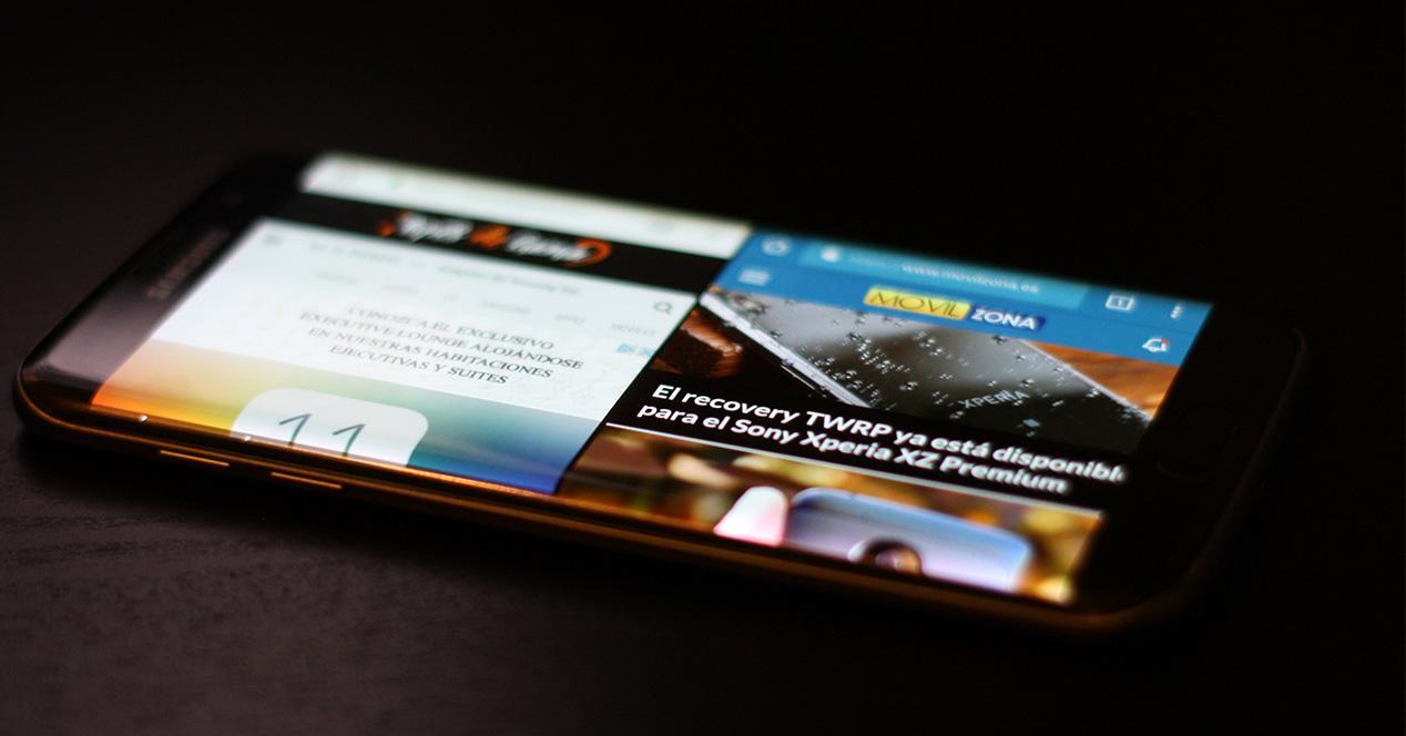 Función de multiventana en Android Nougat