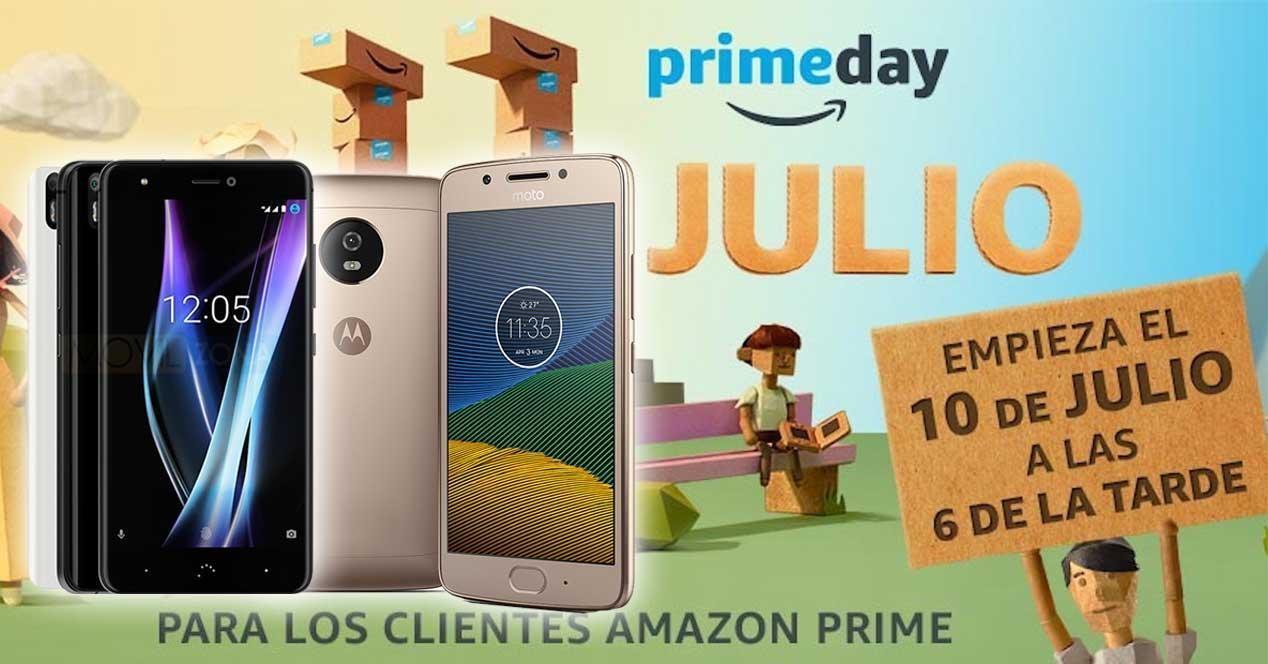 móviles amazon prime day