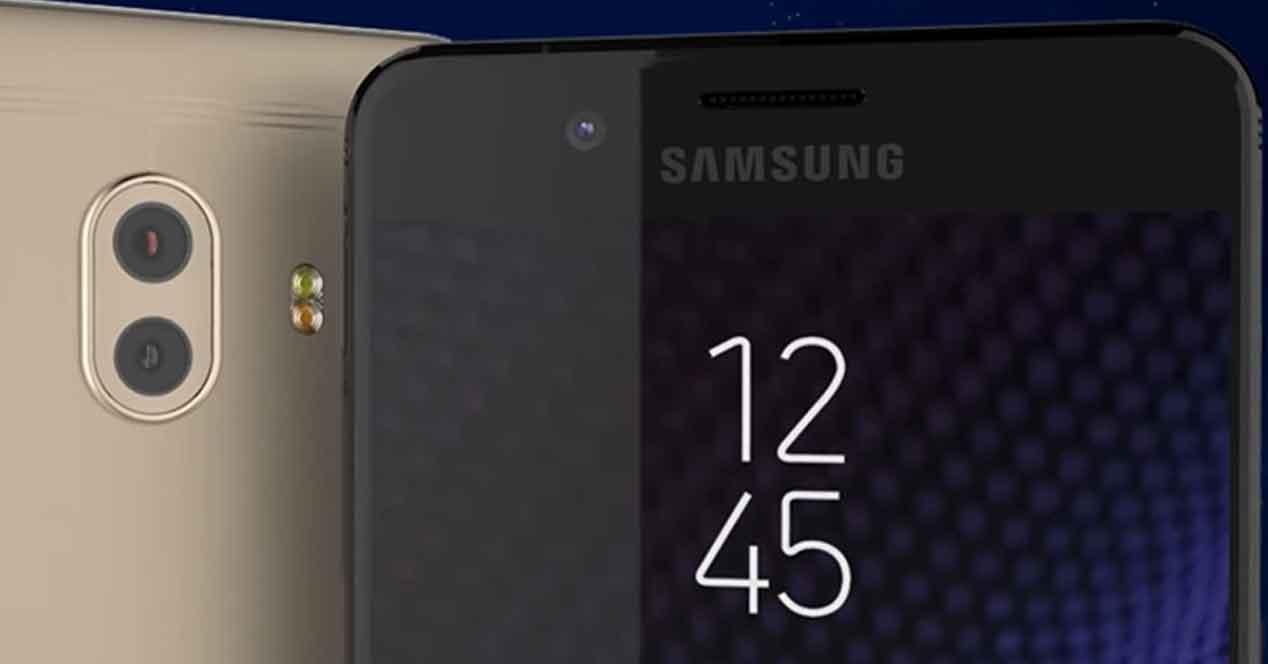 Concepto del Samsung Galaxy C10