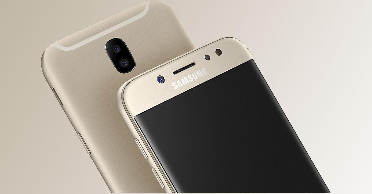 Samsung Galaxy J7 (2017) con cámara dual