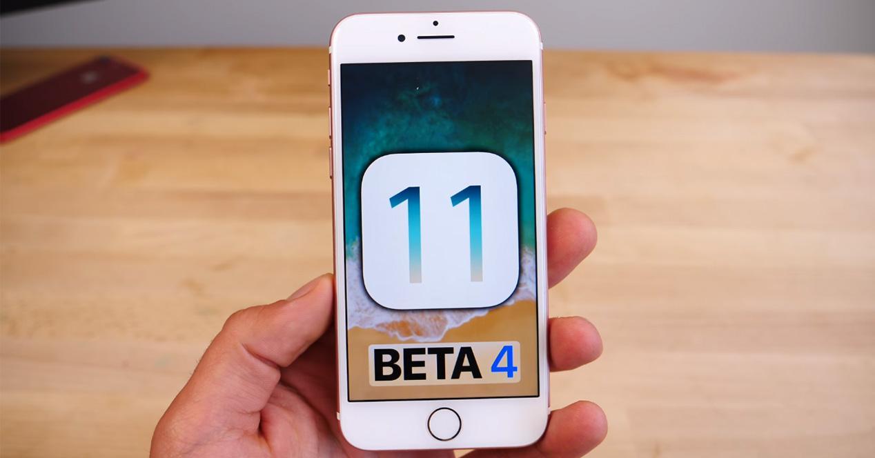 Novedades de iOS 11 Beta 4