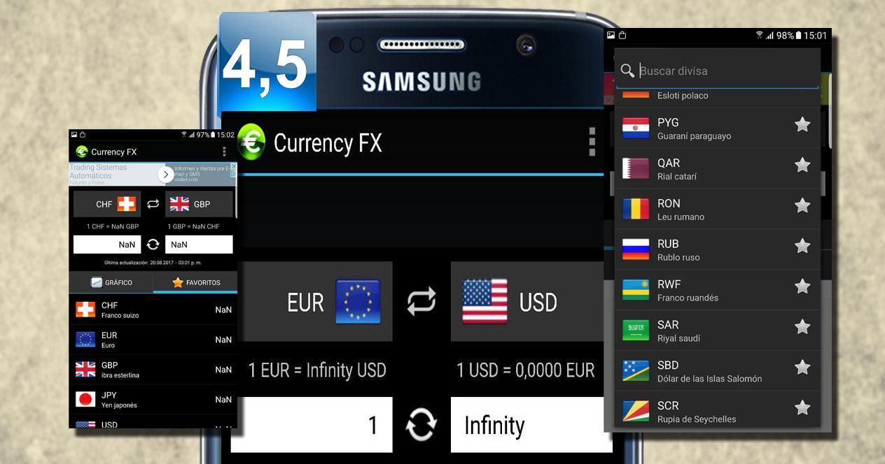 Aplicación Currency FX