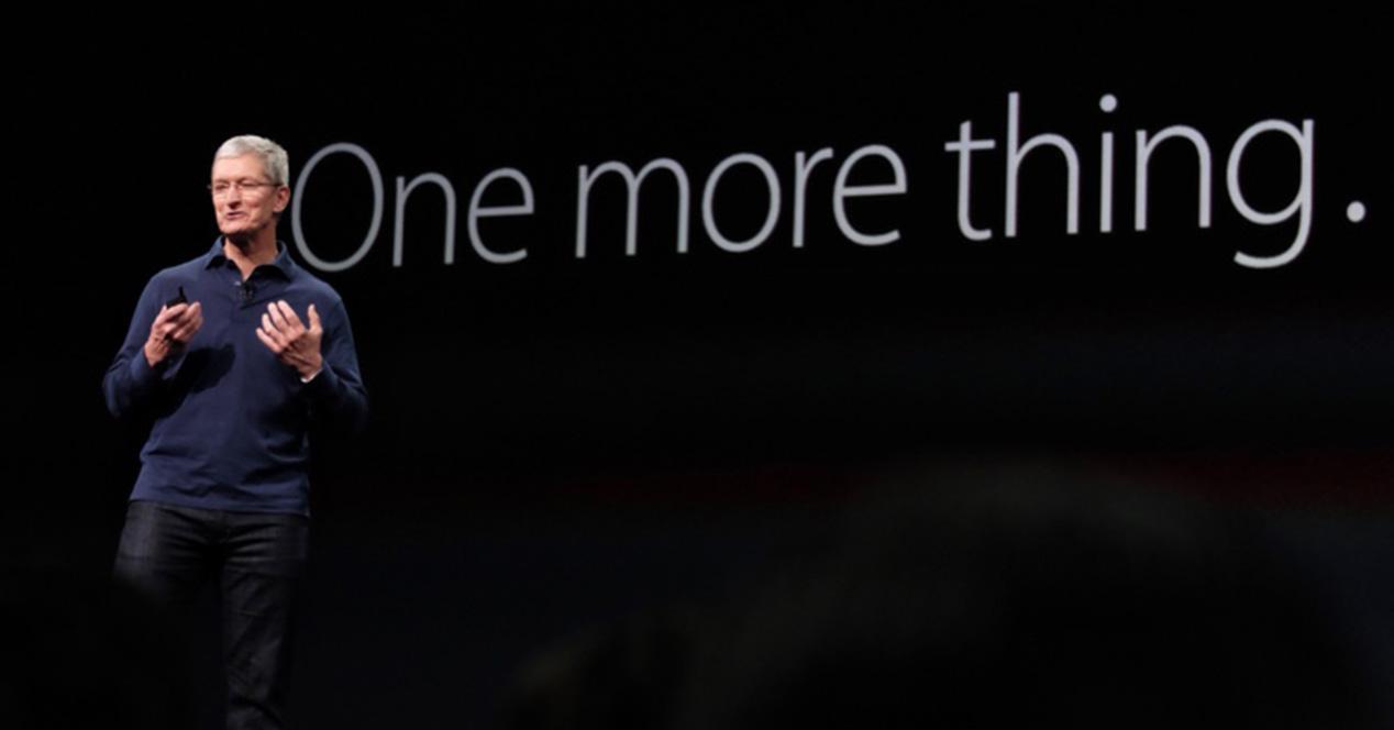 Evento de presentación de Apple One More Thing