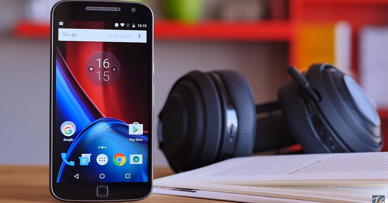 Pantalla del Motorola Moto G4 Plus