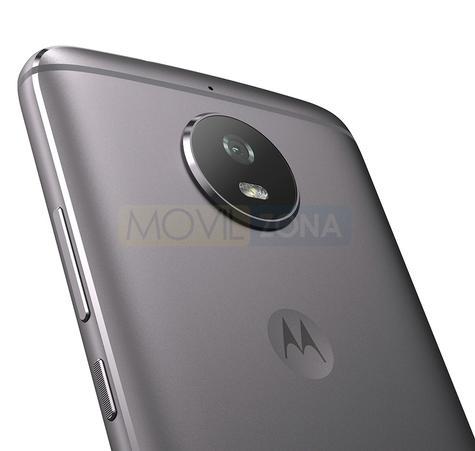 Motorola Moto G5s gris detalle de la cámara