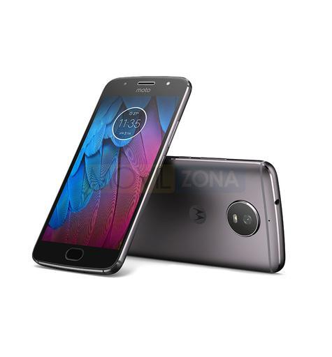 Motorola Moto G5s gris vista delantera