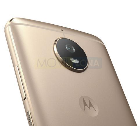 Motorola Moto G5s detalle de la cámara