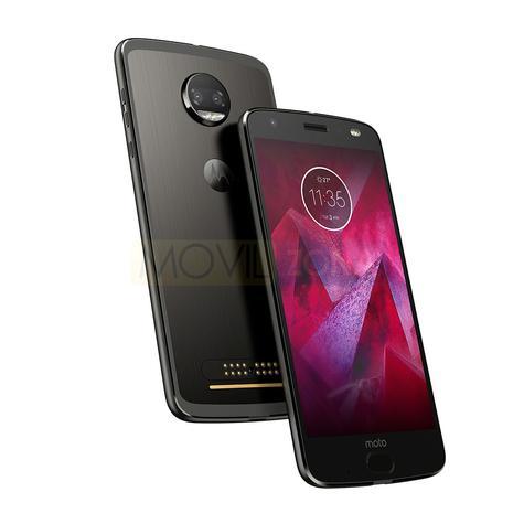 Motorola Moto Z2 Force Edition negro