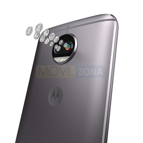 Motorola G5s Plus detalle doble lente