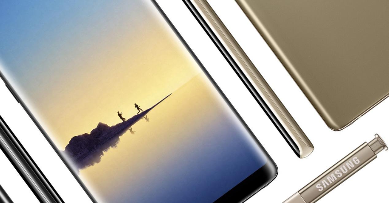 Imagen del Samsung Galaxy Note 8 con S Pen