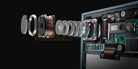 Sony Xperia XZ1 lentes de cámara