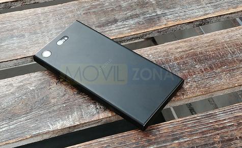 Sony Xperia XZ1 Compact negro vista trasera