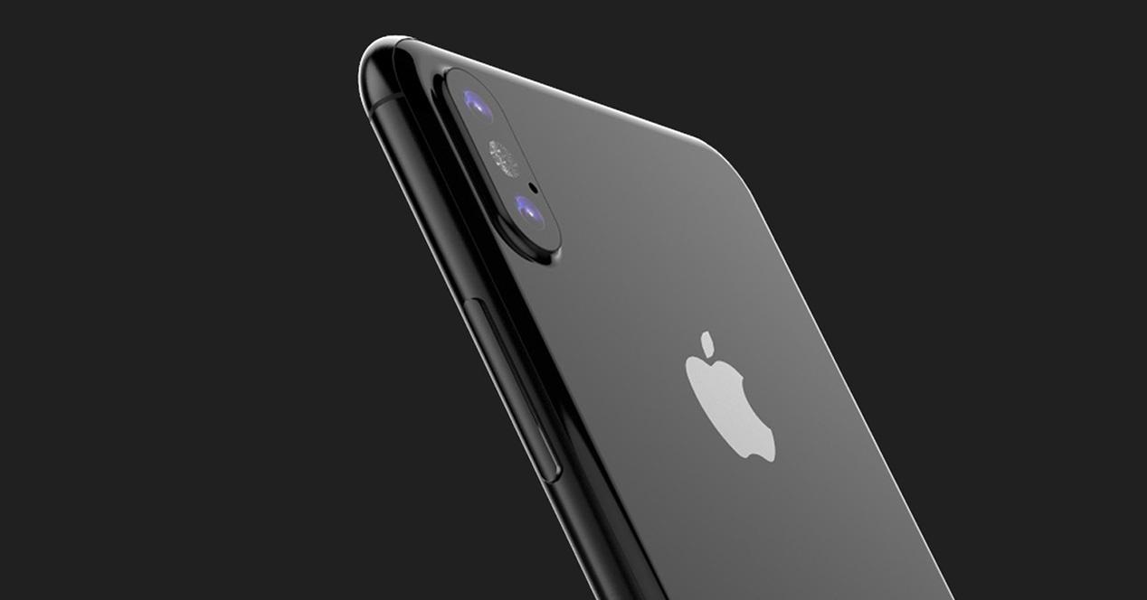 cámara del iphone 8